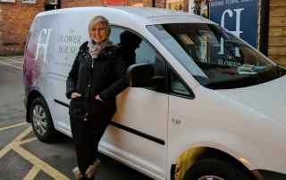 White van woman