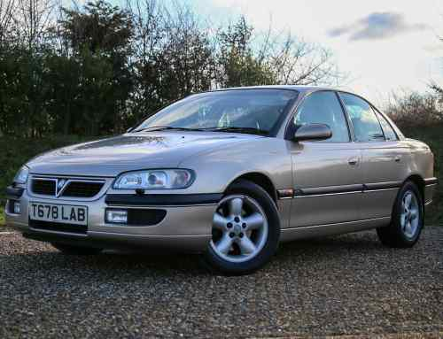 Vauxhall Omega review: buy this bargain V6 before it's extinct