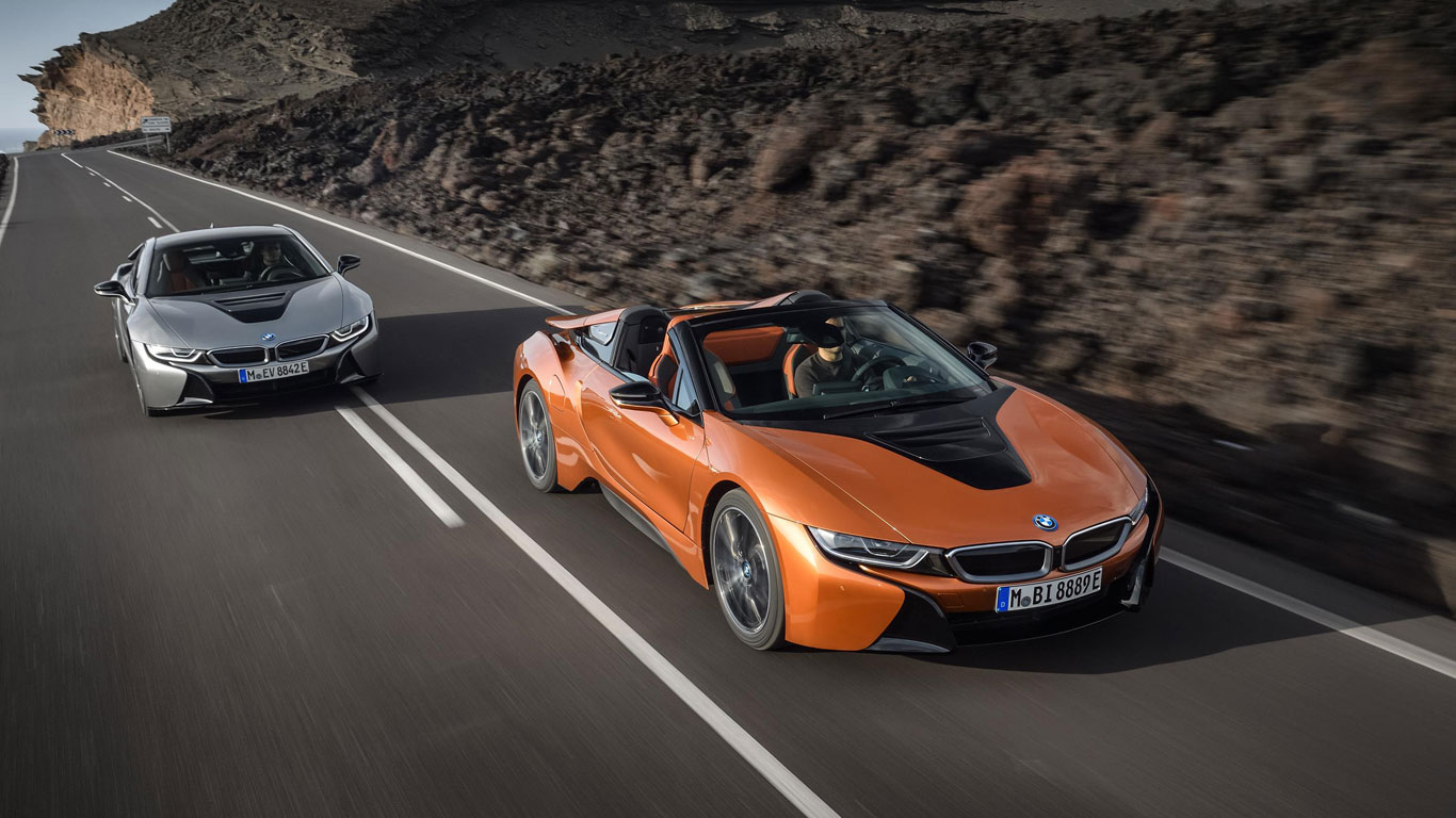 BMW i8 Roadster and Coupe