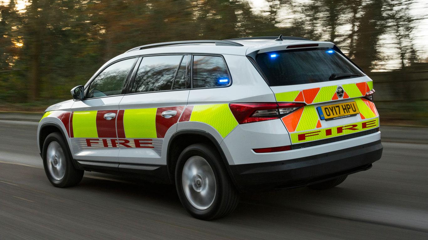 Skoda emergency vehicles