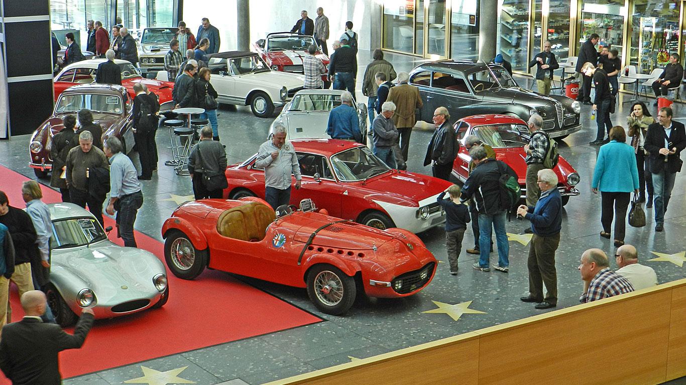 Retro Classics, Stuttgart, Germany (22 - 25 March)