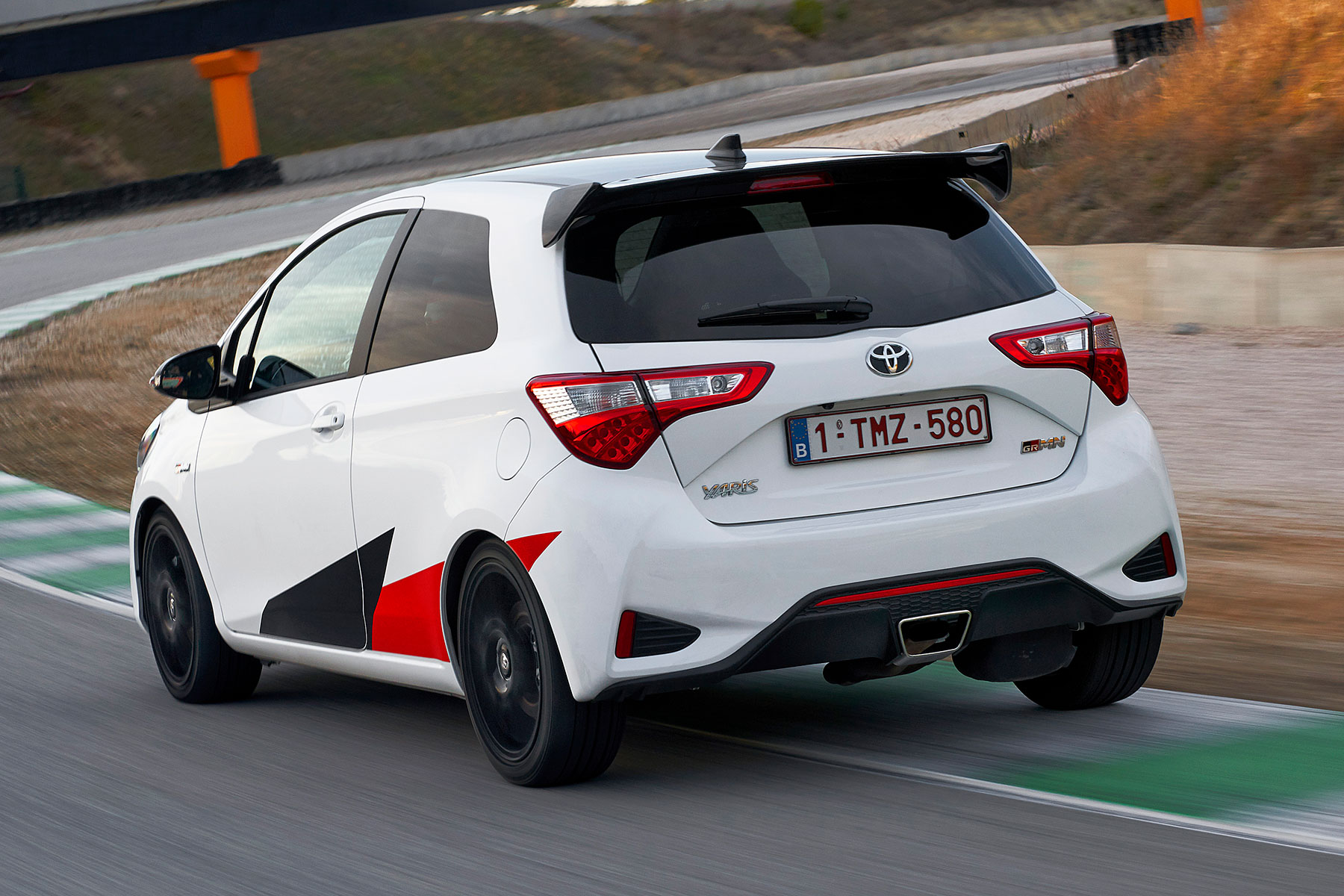 Yaris Grmn Review On Track In Toyota S Hardcore Hatch