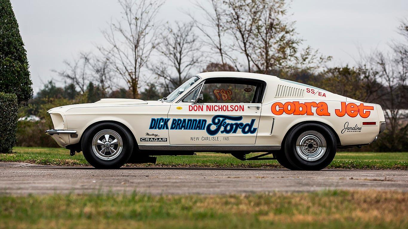 1968 Ford Mustang Cobra Jet