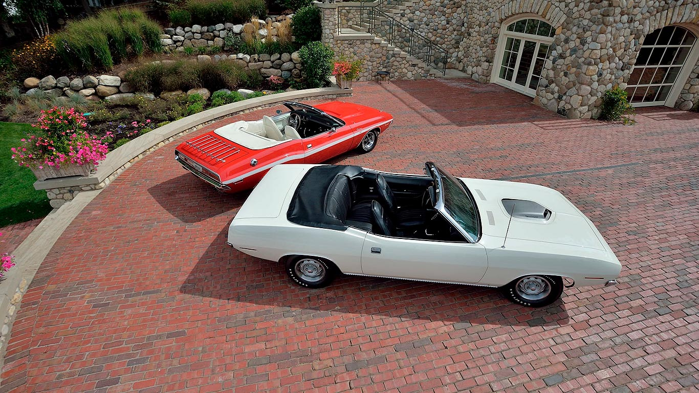 1970 E-Body Pilot Cars