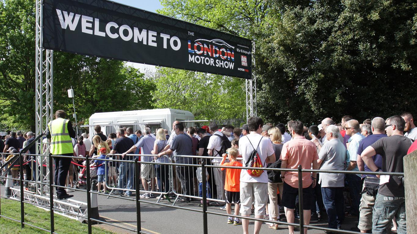 London Motor Show (17 - 20 May)