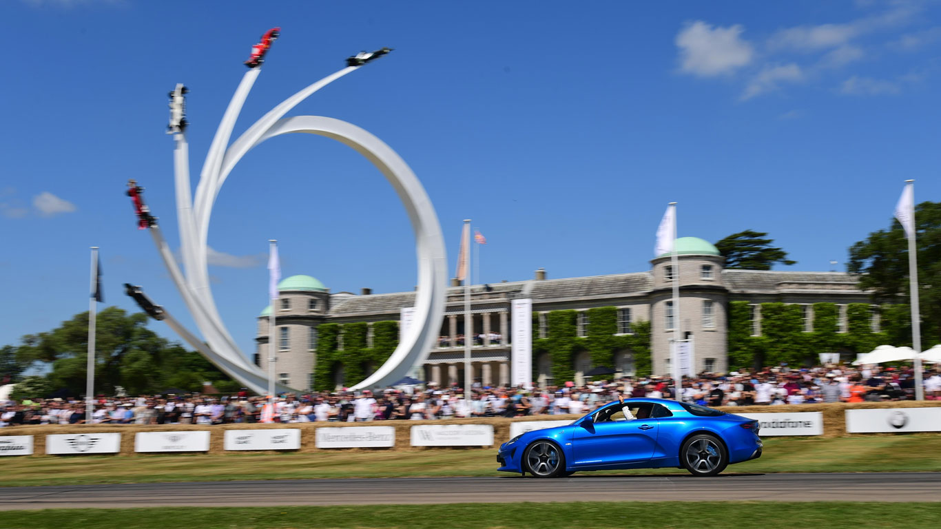 Goodwood Festival of Speed, Goodwood (12 - 15 July)