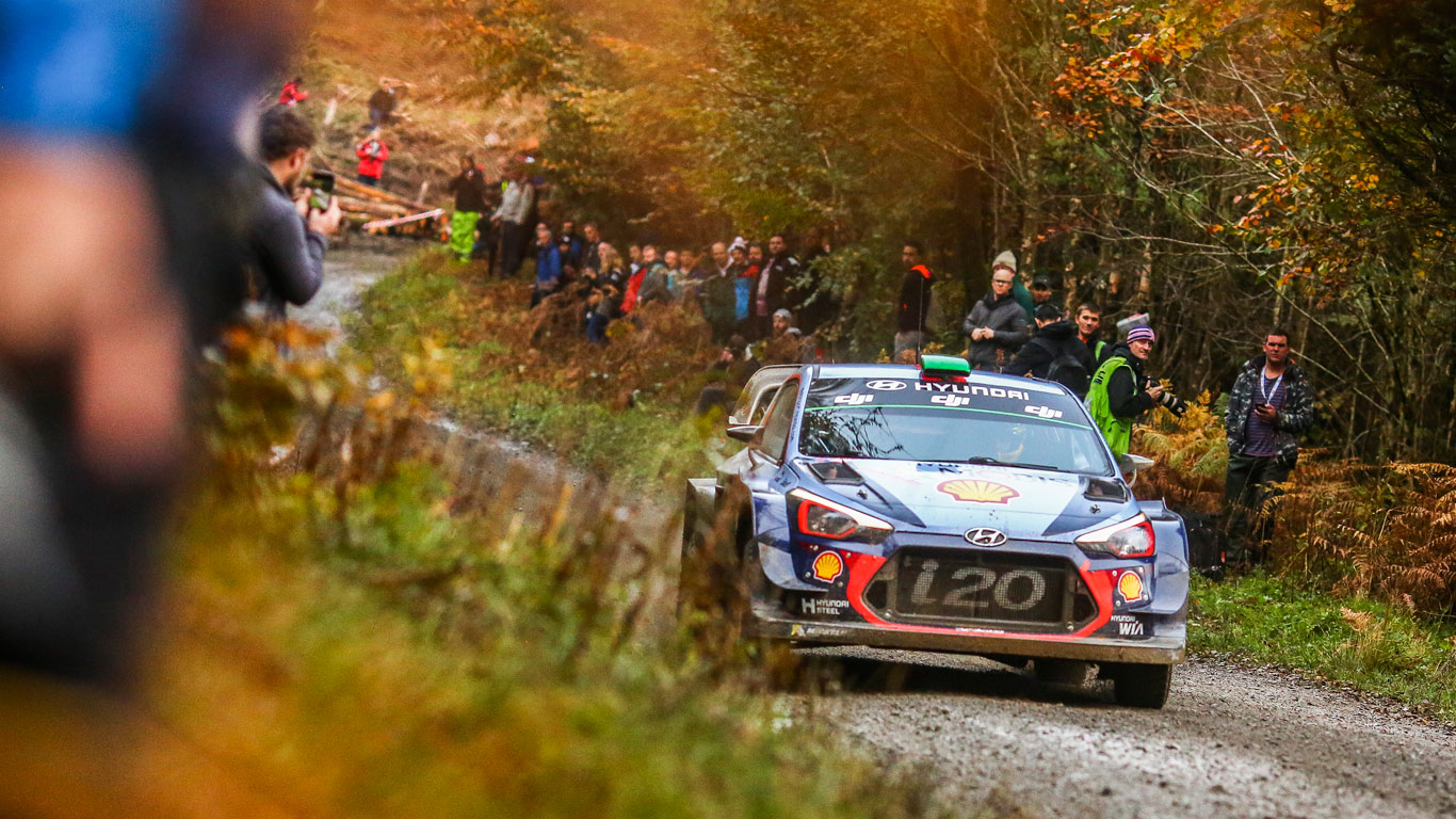 Rally GB, Wales (4 - 7 October)