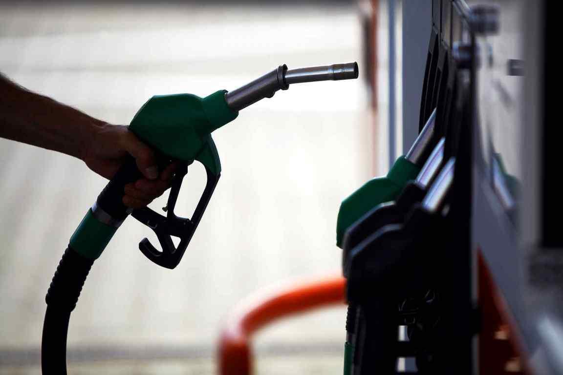 Filling station fuel pump