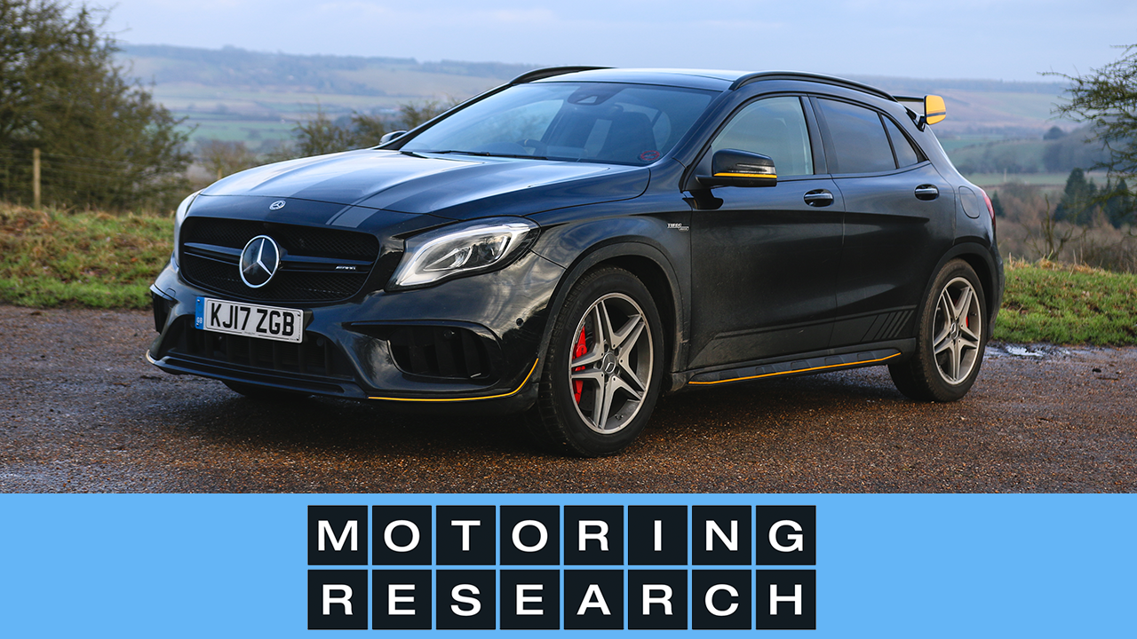video review 2018 mercedes amg gla 45 motoring research. Black Bedroom Furniture Sets. Home Design Ideas