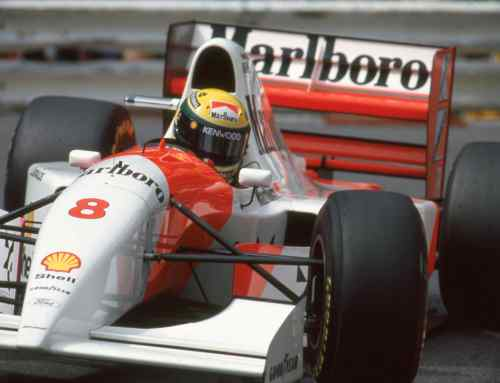 Ayrton Senna's historic McLaren-Ford heads to auction