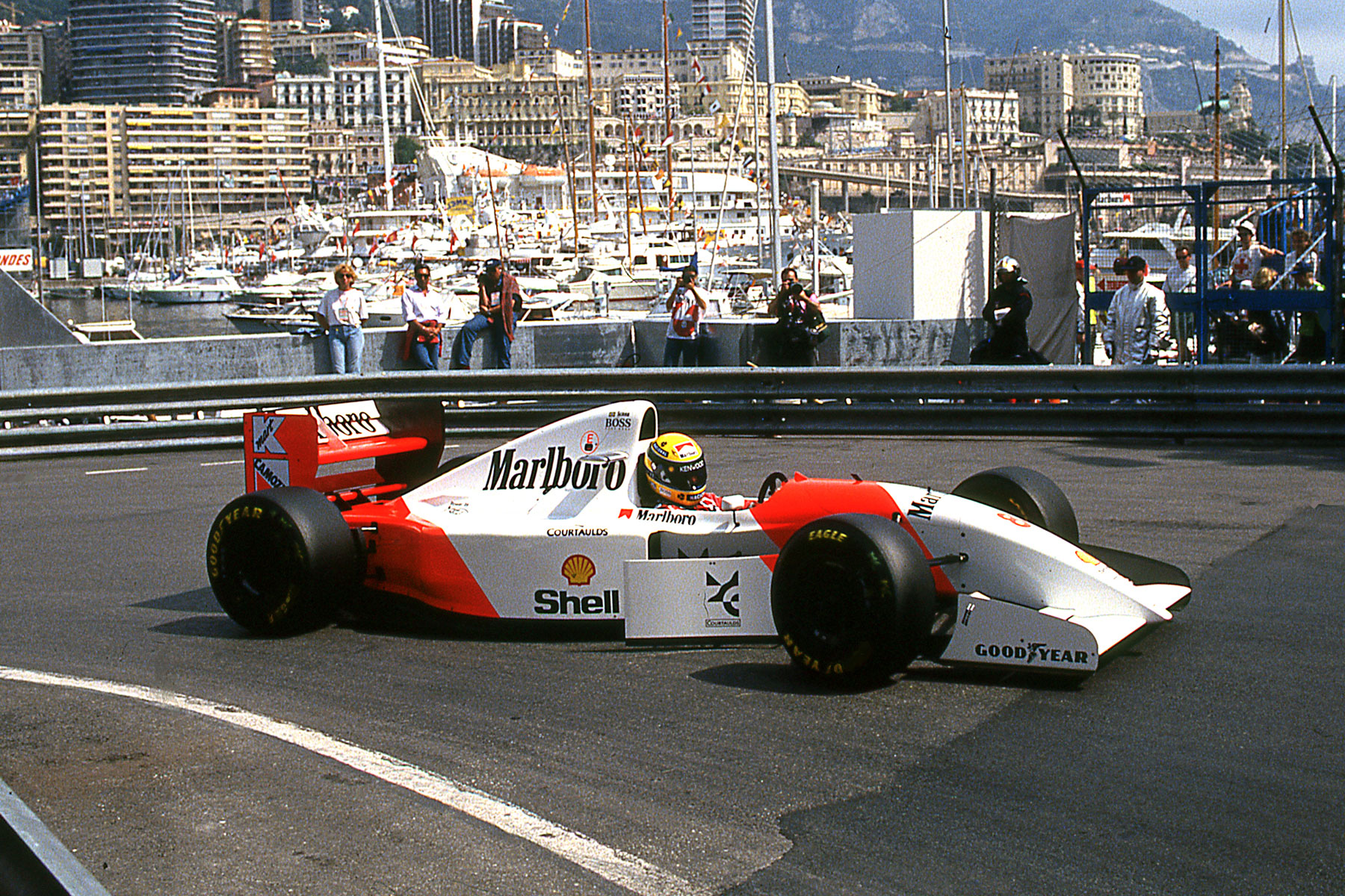 McLaren-Ford at 1993 Monaco GP