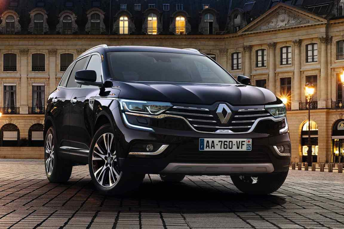 ultra posh renault koleos initiale paris suv launched. Black Bedroom Furniture Sets. Home Design Ideas