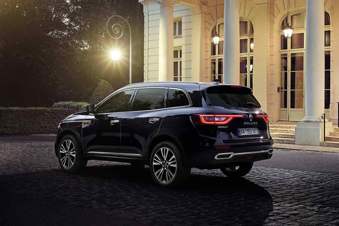 ultra posh renault koleos initiale paris suv launched motoring research. Black Bedroom Furniture Sets. Home Design Ideas