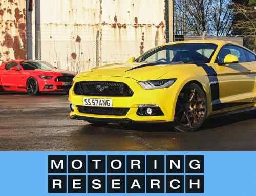 Modified Mustangs in action: Velgen Society UK