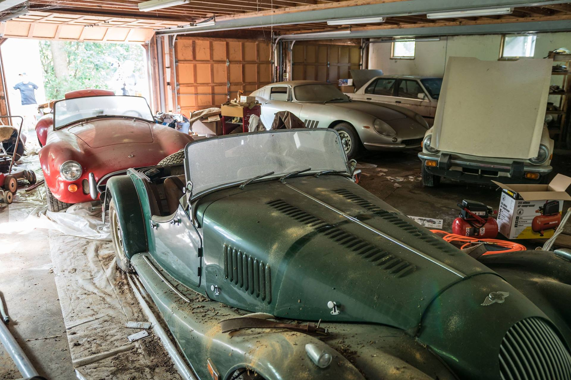 ferrari cobra worth 4 million found in condemned nc
