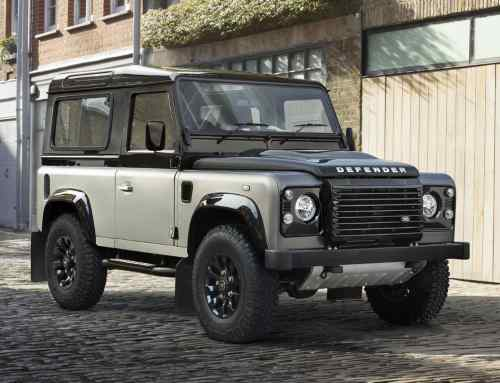 The Land Rover Defender V8 Works used to be a rare Autobiography