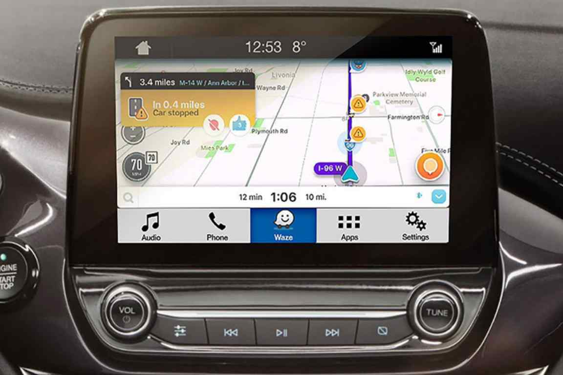 You can now use Waze via your Ford's infotainment system