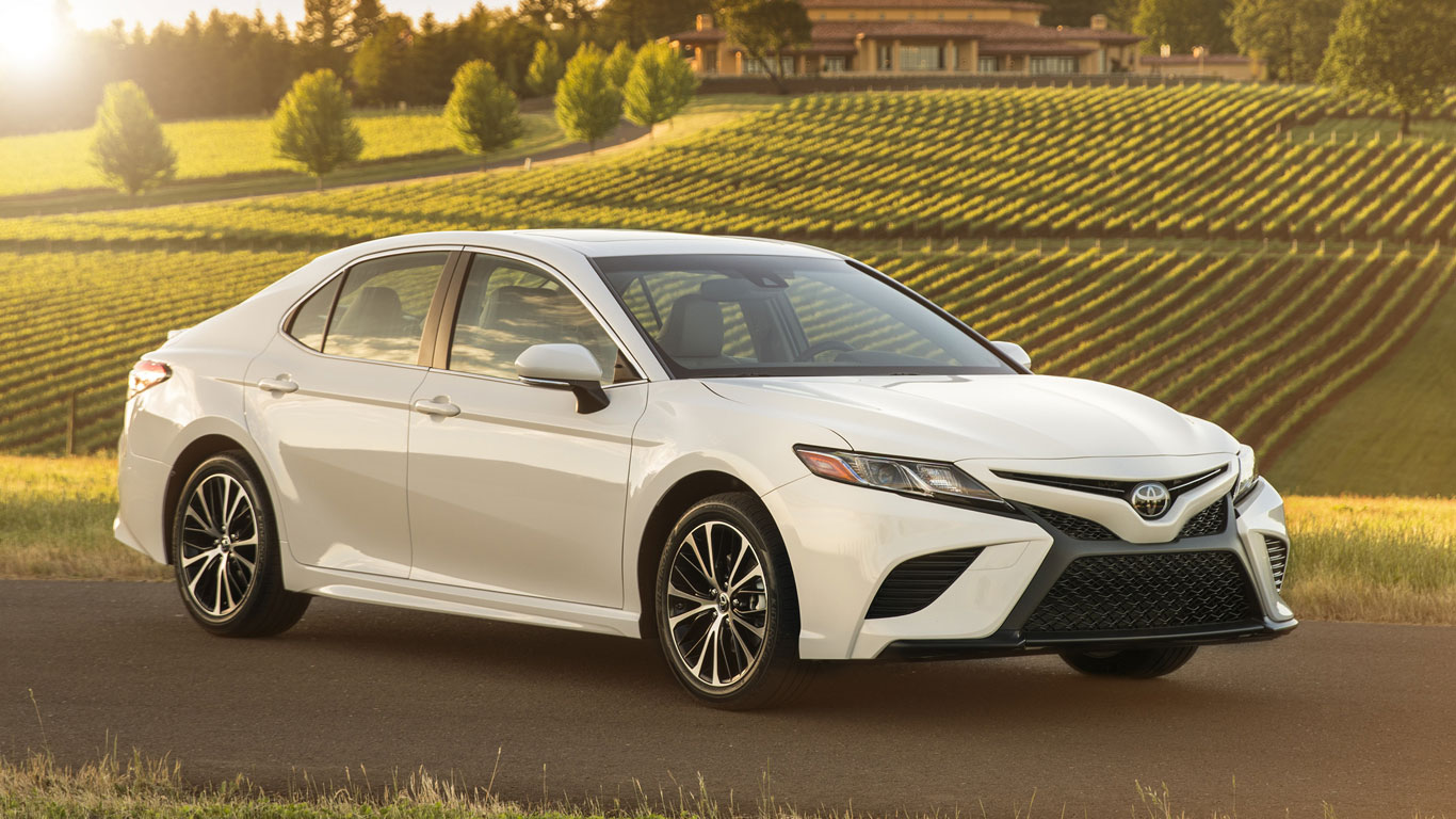 Since The Dawn Of Time Toyota Camry Has Been Locked In A Battle With Honda Accord For Saloon Car Supremacy United States