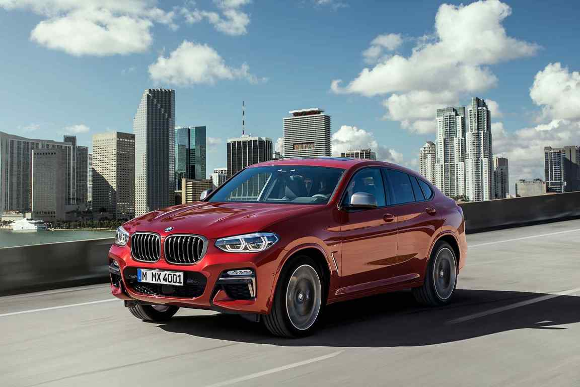 new 2018 bmw x4 revealed and ordering opens tomorrow motoring research. Black Bedroom Furniture Sets. Home Design Ideas