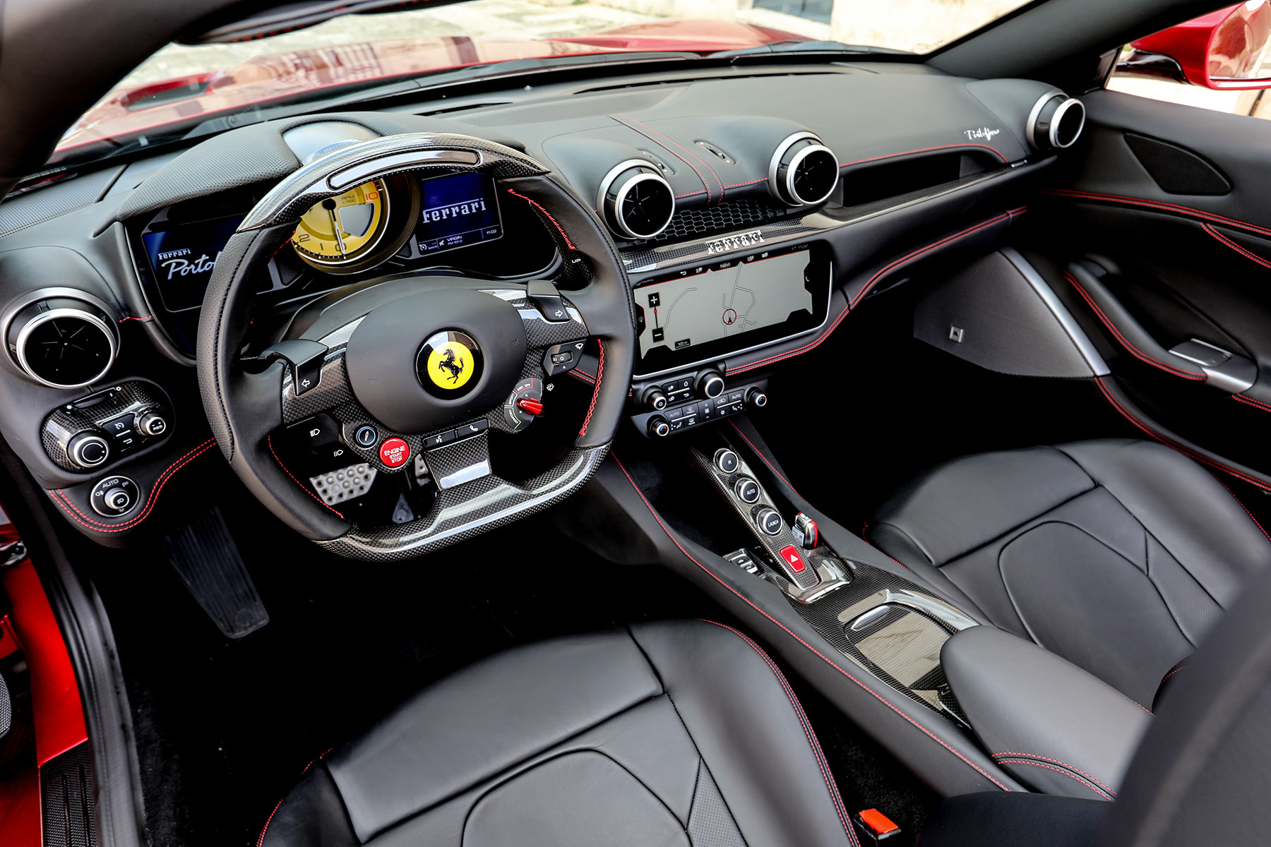 2018 ferrari portofino first drive the entry level ferrari you still can 39 t afford. Black Bedroom Furniture Sets. Home Design Ideas
