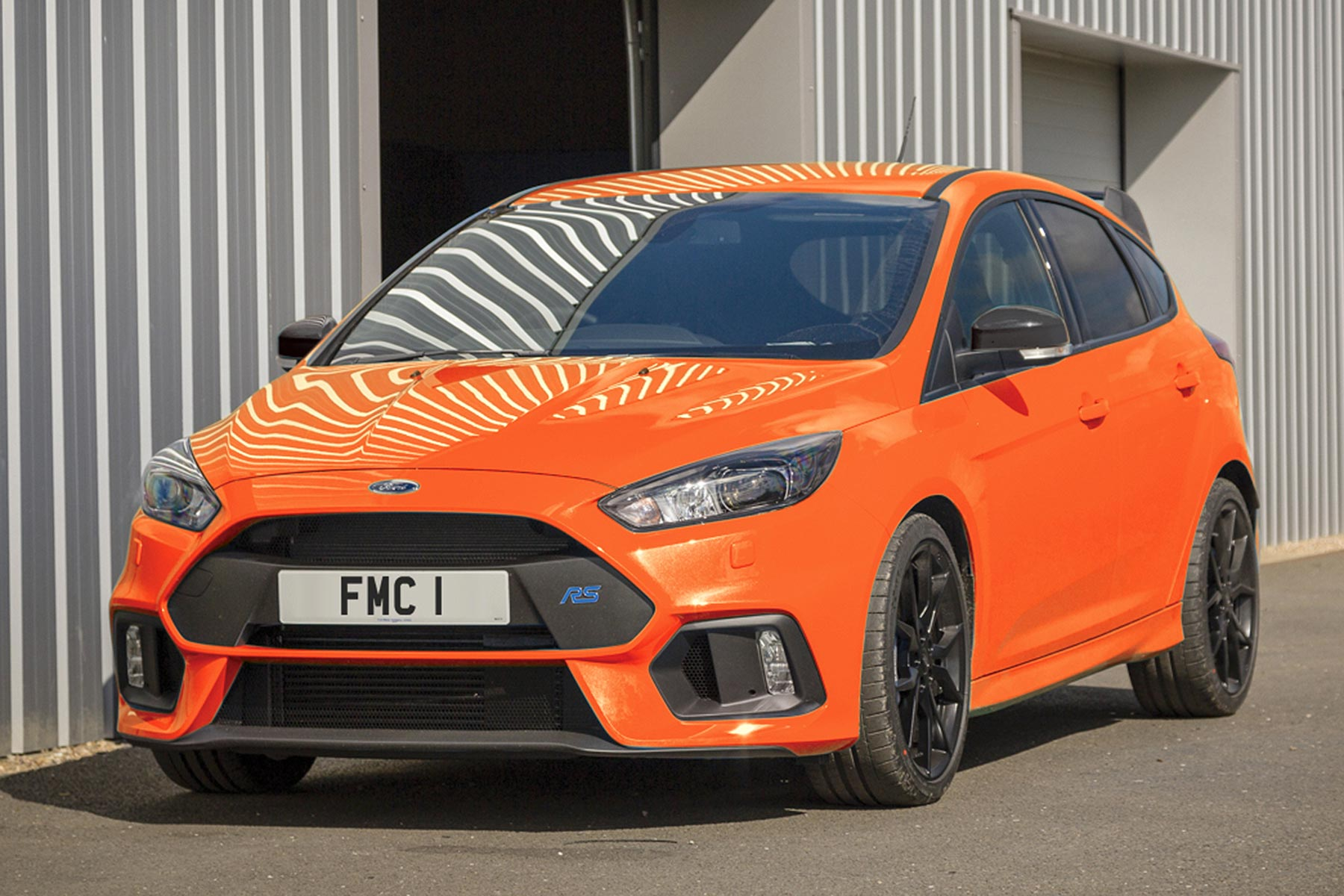 ford focus rs heritage edition is a 39 895 orange crush motoring research. Black Bedroom Furniture Sets. Home Design Ideas