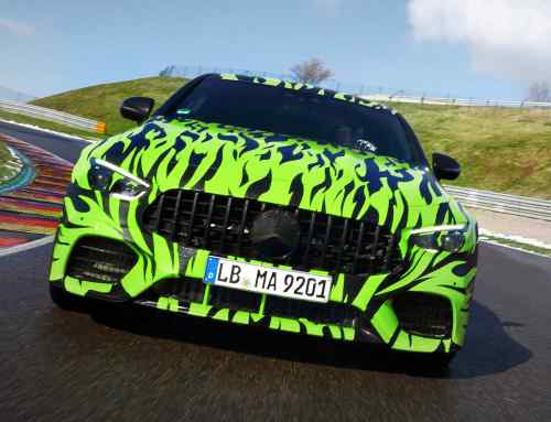 Hot wheels: Mercedes-AMG teases its four-door GT