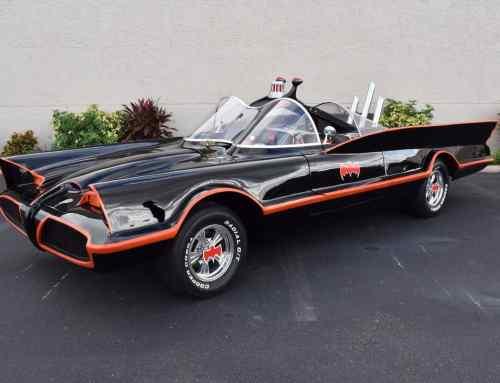 Original Batmobile autographed by Batman stars for sale in FL