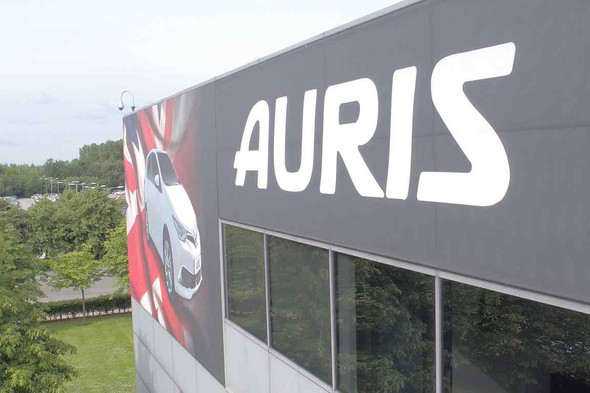 Toyota Auris built in Burnaston