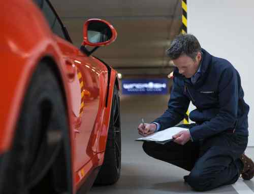Meet the man who looks after London's supercars