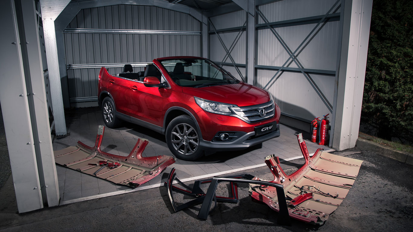 Honda CR-V Roadster is April fools' gold
