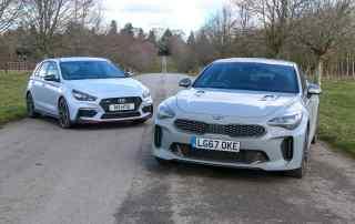 Kia Stinger GT-S vs. Hyundai i30 N