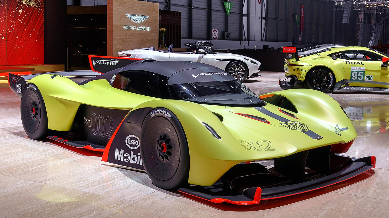 Claiming That Your New Track Only Hypercar Is As Fast A Contemporary Formula 1 Racer Certainly Sets Expectations High Yet S Exactly What Aston