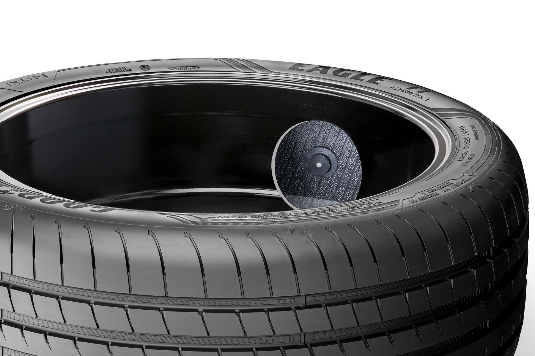 Goodyear intelligent tyre