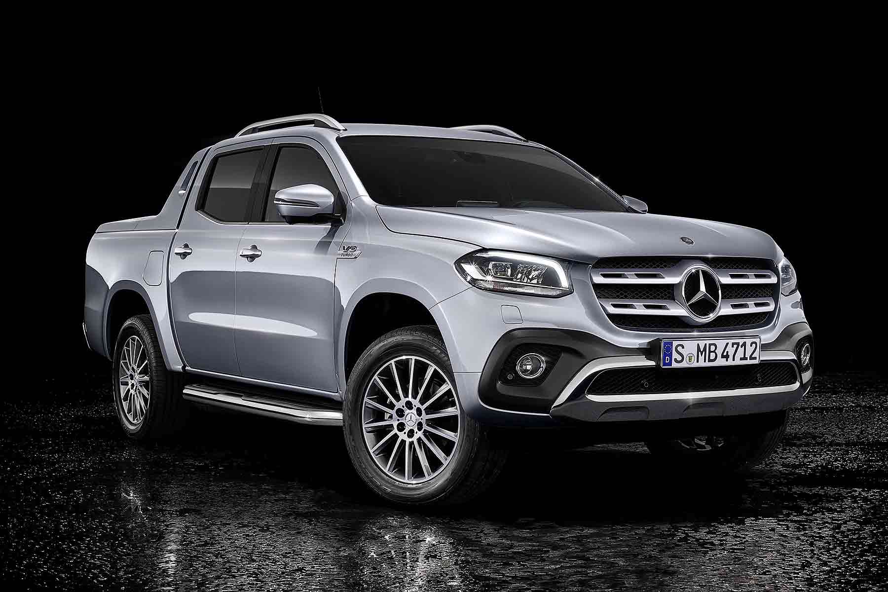 Mercedes Benz X Class V6 On Show At Geneva 2018 Motoring