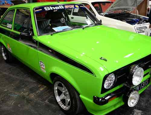 Fast Fords at the 2018 Classic Car Restoration Show