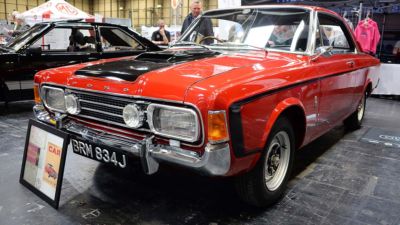 Fast Fords At The Classic Car Restoration Show Motoring Research - Classic car and restoration show
