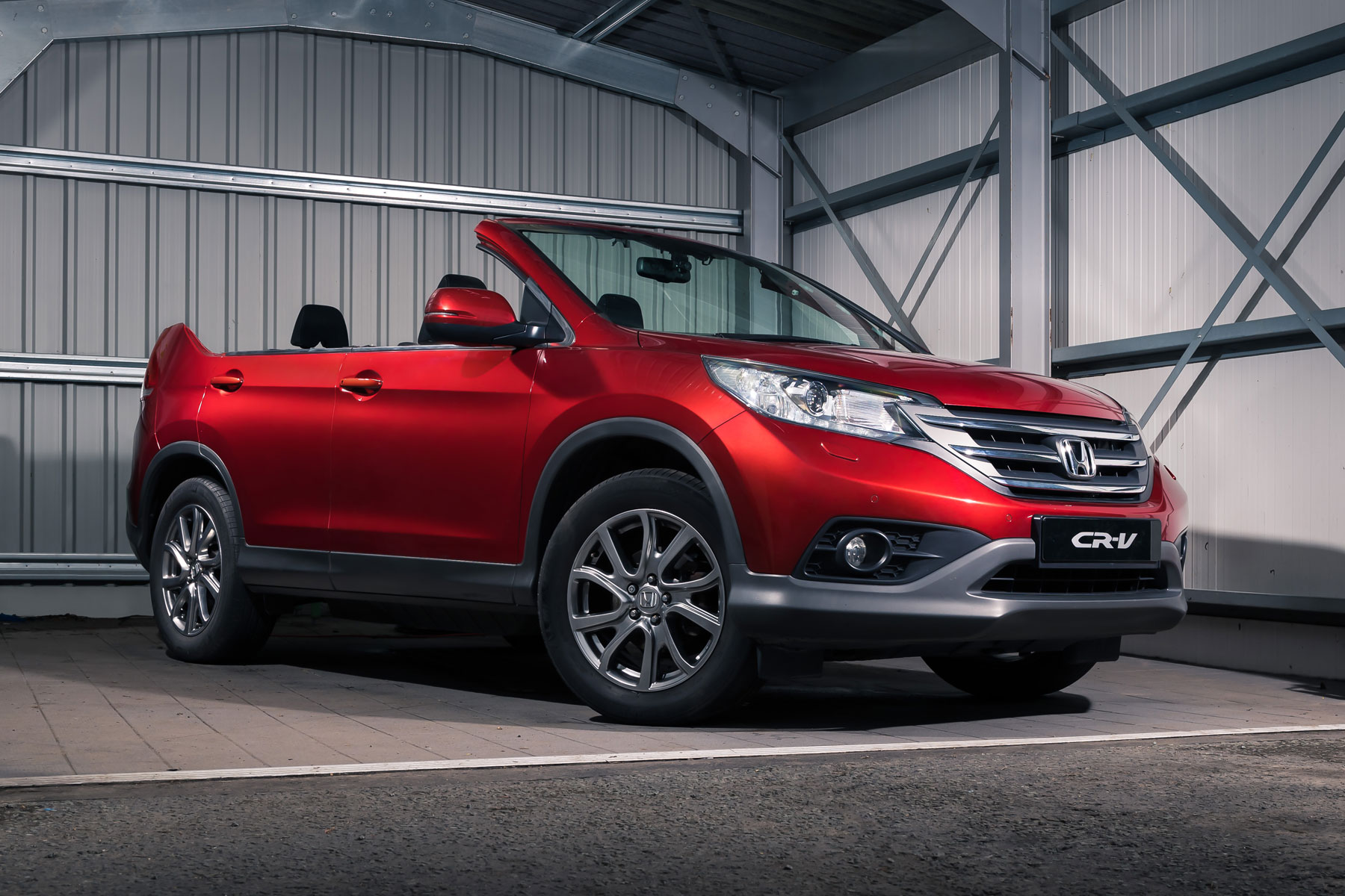 honda cr v roadster is april fools 39 gold motoring research. Black Bedroom Furniture Sets. Home Design Ideas