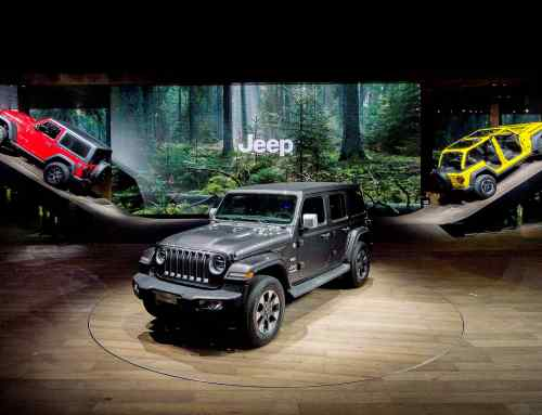 Official: Jeep had the best stand at Geneva 2018