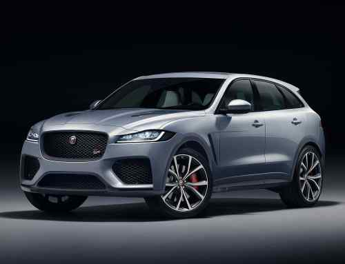 Jaguar F-Pace SVR super-SUV revealed in New York