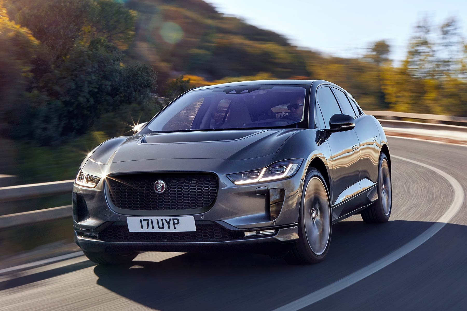 new all electric jaguar i pace revealed it 39 s yours from 63 495 motoring research. Black Bedroom Furniture Sets. Home Design Ideas