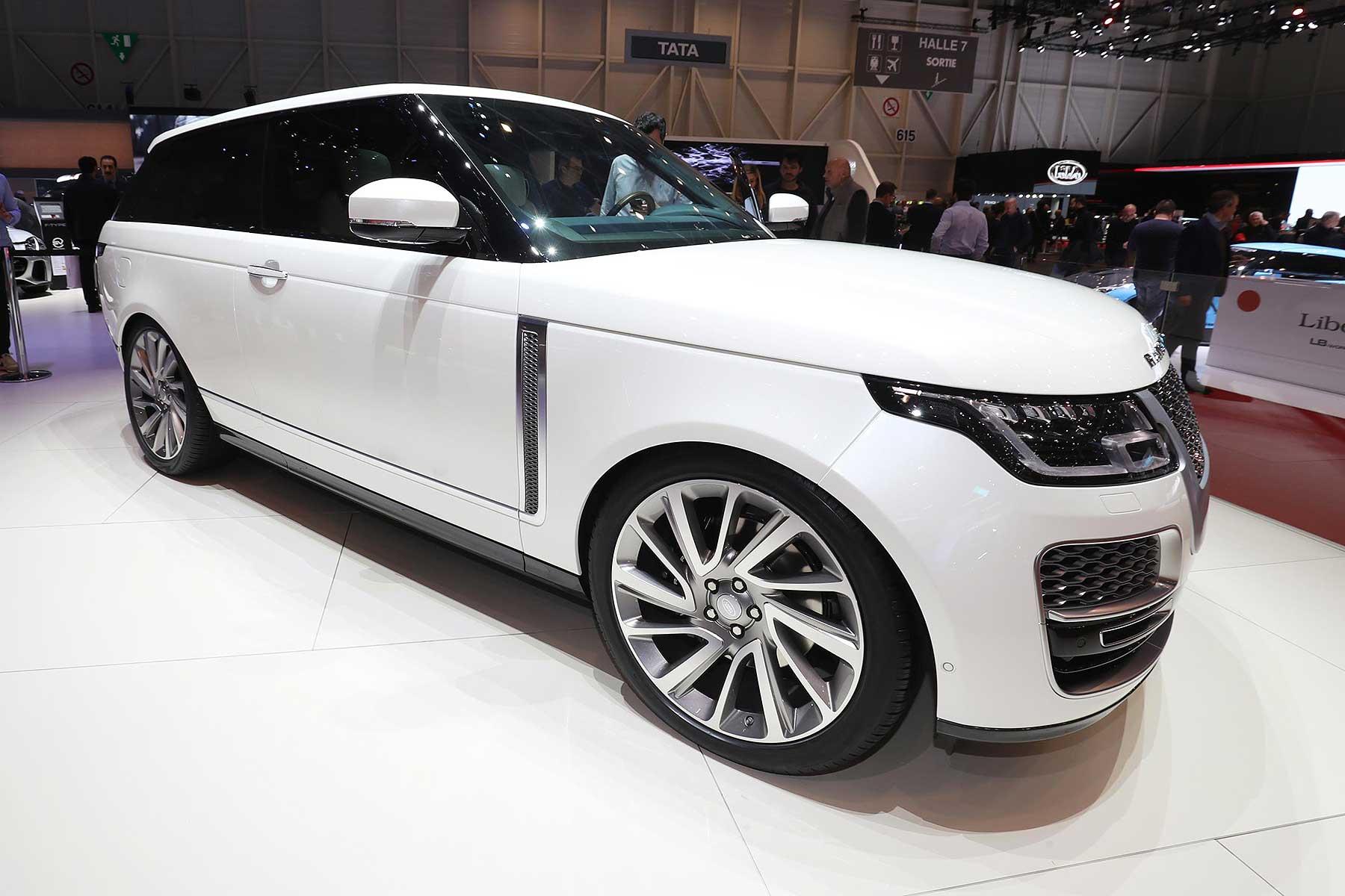 range rover sv coupe motoring research. Black Bedroom Furniture Sets. Home Design Ideas