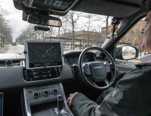 Self-driving Jaguar Land Rovers go public in Milton Keynes