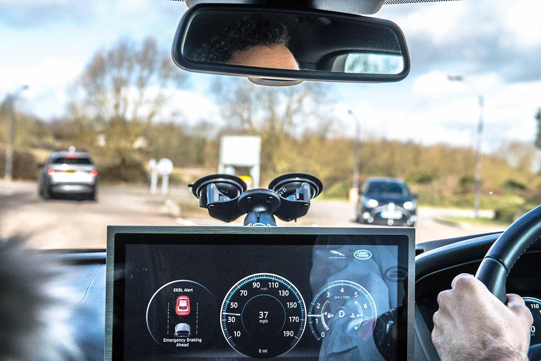 Self-driving Jaguar Land Rovers in Milton Keynes