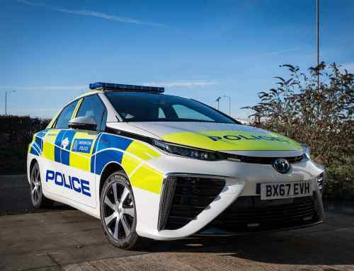 The Met Police's new fleet of cars will emit only WATER