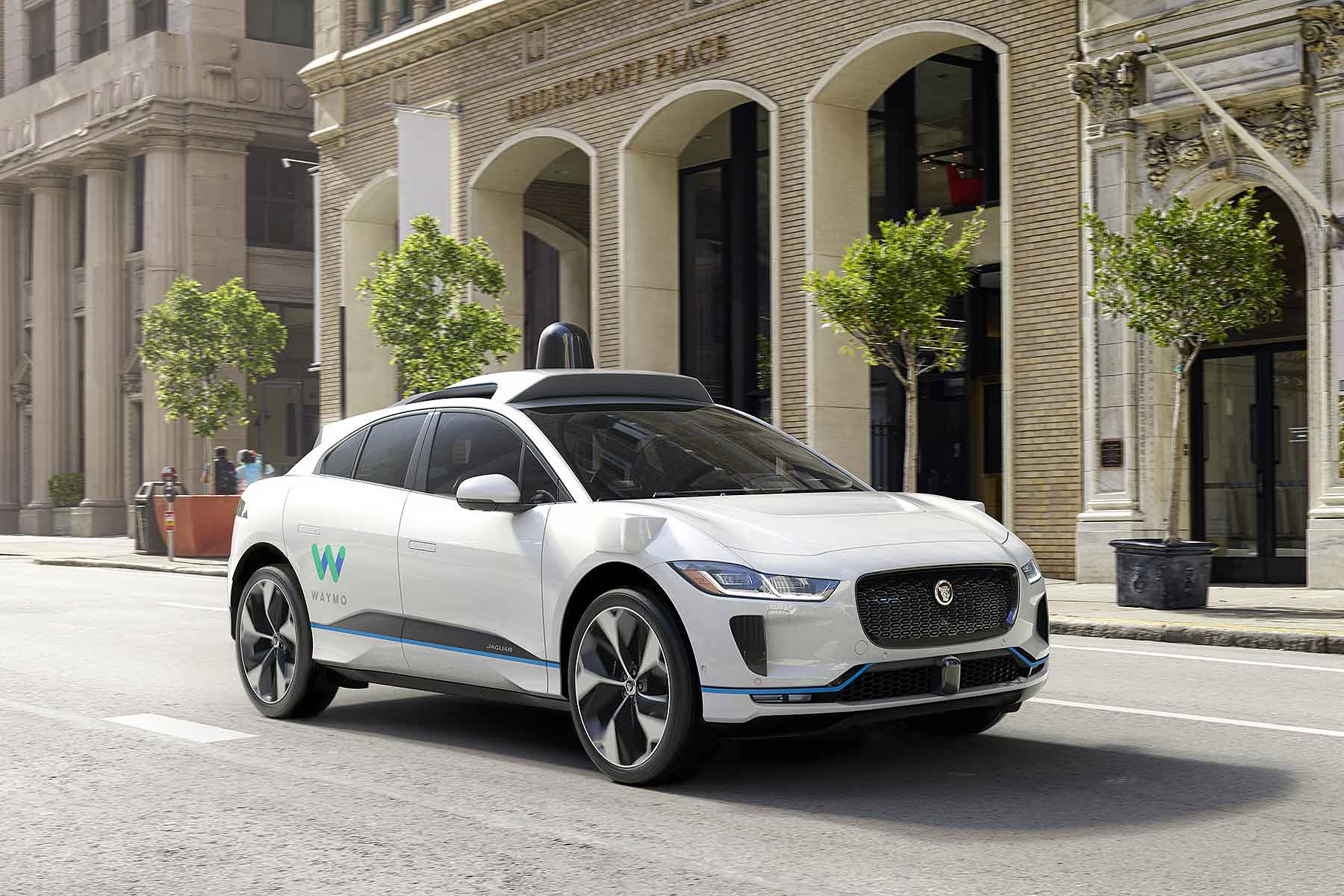 Waymo Jaguar I-Pace self-driving EV