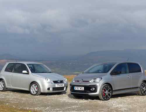 Pocket rockets: Volkswagen Up GTI vs. retro Lupo GTI
