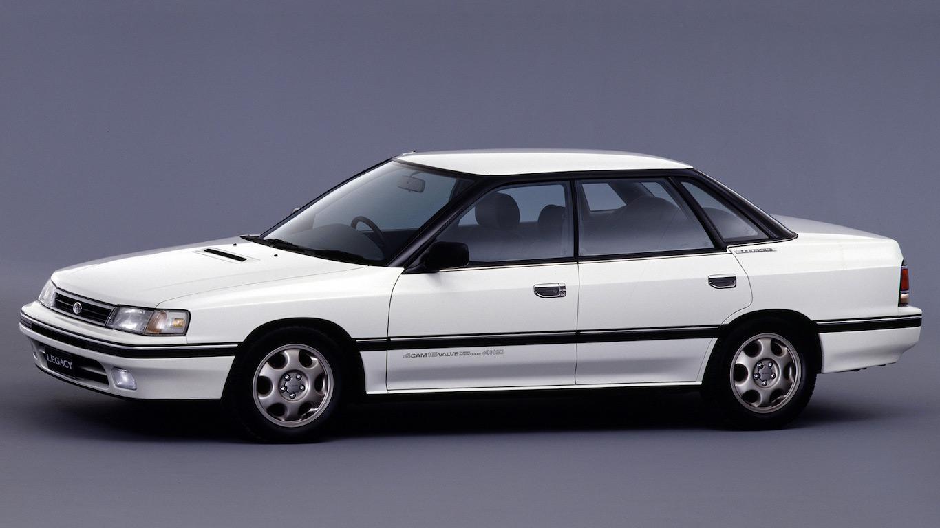1989 Subaru Legacy RS