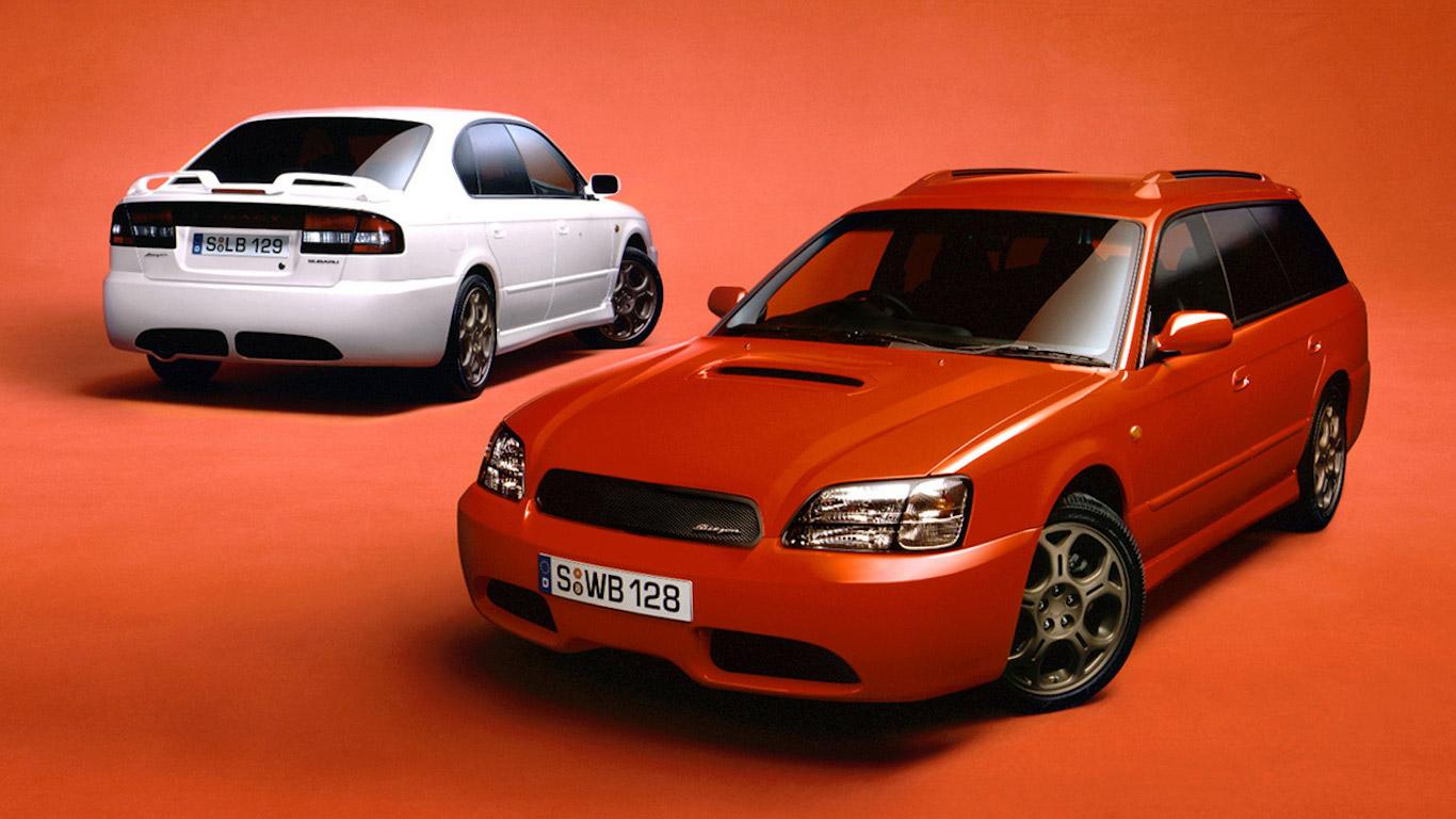 2000 Subaru Legacy B4 Blitzen