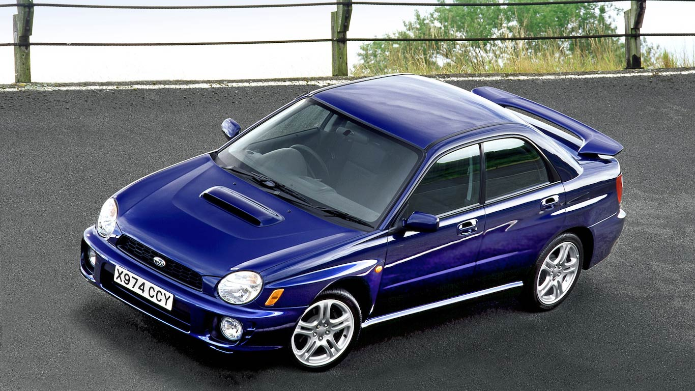 2000 Subaru Impreza WRX