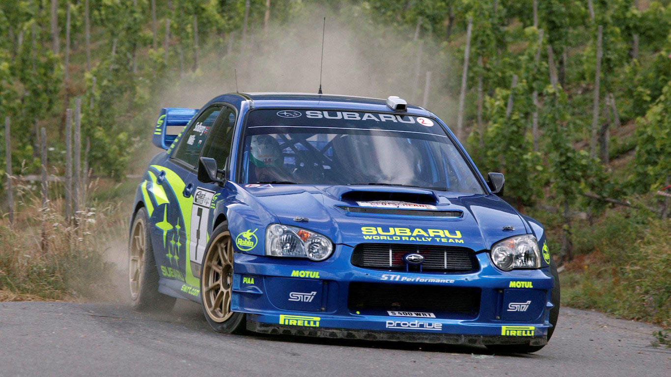 Rallying Cry 30 Years Of Hot Subarus Motoring Research